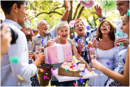 Arranging the Perfect Surprise Party for Your Wife